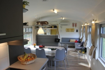 Station Racour Treinvakantiewoning 1